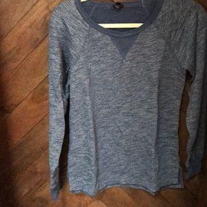 Comfortable casual sweatshirt like top.